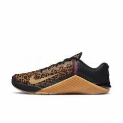 Woman training Shoes Nike Metcon 6 - metallic gold chutney