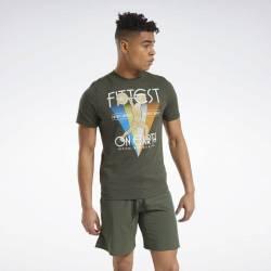 Pánské tričko Reebok CrossFit Fittest On Earth Tee - FS7656