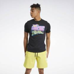 Pánské tričko Reebok CrossFit 90s Cali Tee - FU1866