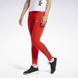 Woman Tight TE Linear Logo Poly Tight - FT0907