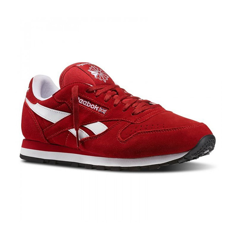 Man Shoes Reebok CL LEATHER SUEDE Classic M46010