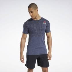 Man T-Shirt Reebok CrossFit MyoKnit Tee Games - FU1865
