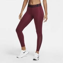 Woman Tight Nike Pro - DARK BEETROOT