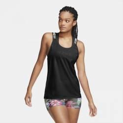Woman top Nike ICNCLSH ELASTKIA black