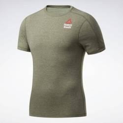 Man T-Shirt Reebok CrossFit AC + Cotton Tee Games - FU1778