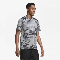 Man T-Shirt Camo Training T-Shirt grey