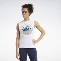 Woman top Reebok CrossFit Tidal Wave Muscle - FU2550