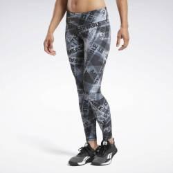 Woman Tight Reebok CrossFit Lux Tight AOP - FU2169