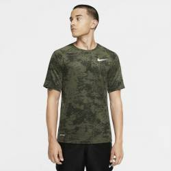 Man camo T-Shirt Nike TOP SS SLIM AOP camo green