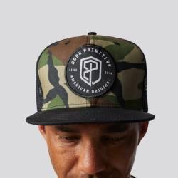 Cap American Original Snapback Hat (Woodland)