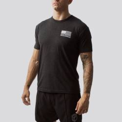 Man T-Shirt The American Protector 2.0 T-Shirt (Black)