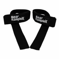 Bear KompleX Lifting Straps (Pair) -Black