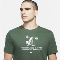 Man T-Shirt Nike - Green