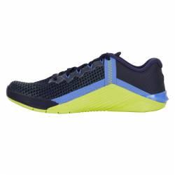 Woman training Shoes Nike Metcon 6 - Blackened blue/Red Plum-Cyber