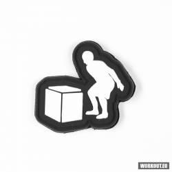 Rubber patch WORKOUT - Box jump 5 x 5 cm