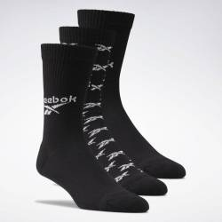 Socks CL FO Crew Sock 3P BLACK - GG6683