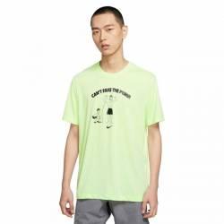 Man T-Shirt Nike Dri Fit - Cant Fake The Pump