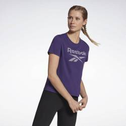 Woman T-Shirt Workout SUP Slim BL Tee - H22533