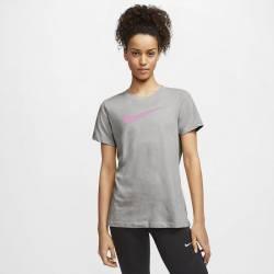 Woman training T-Shirt Nike Dri-FIT - pink swoosh