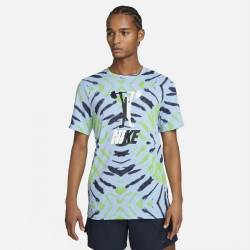 Man T-Shirt Nike Dri Fit Festival - Blue