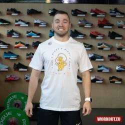 Man T-Shirt Nike Dri Fit - Gym Rat
