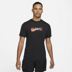 Man T-Shirt Nike Athlete - Black