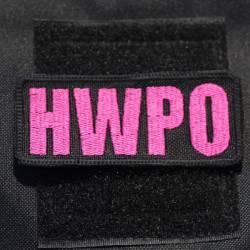 Nášivka HWPO růžová