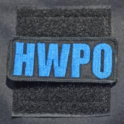 Nášivka HWPO modrá