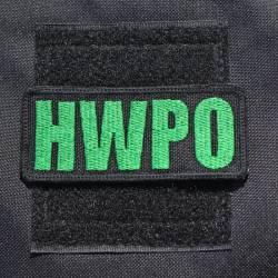 Nášivka HWPO zelená