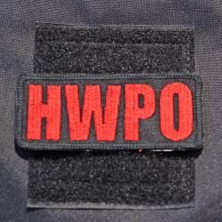 Nášivka HWPO red