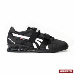 Man weightlifting Shoes WORKOUT - black/white
