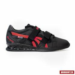 Man weightlifting Shoes WORKOUT - black/red