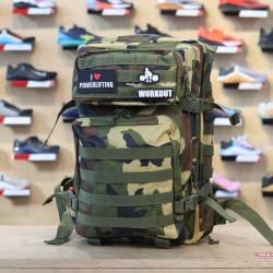 Military bag WORKOUT - green camo