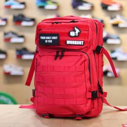 Military bag WORKOUT - red