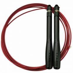 Speed rope Top bullet comp EliteSRS - black/red