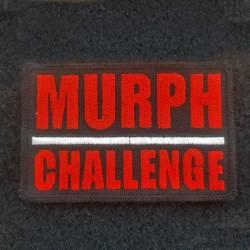 Nášivka MURPH CHALLENGE black/red