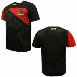 Man training T-Shirt UFC black/red