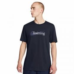 Man T-Shirt Swoosh Training - obsidian