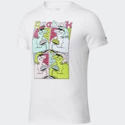 Man T-Shirt Reebok - animal