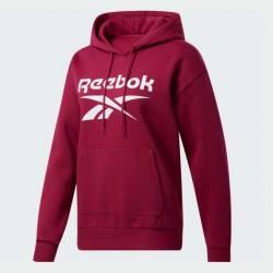 Woman hoodie Reebok Fleece Hoody PUNBER