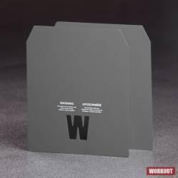 2 x 3.73 kg plates for a weight vest WORKOUT - MAN MURPH (20 lb with vest)