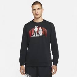 Man training hoodie WEIGHTLIFTING black