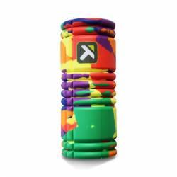 Masážní pěnový roller Foam Roller GRID - RAINBOW - Trigger Point