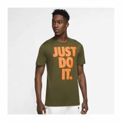 Man T-Shirt Nike Sportswear - Just do it - Grün