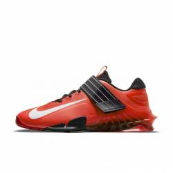 Weightlifting Shoes Nike Savaleos - red