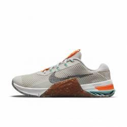 Dámské tréninkové boty Nike Metcon 7 MFS - light bone/smoke grey
