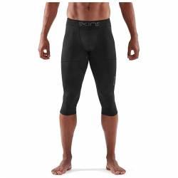 Man compression Tight Skins A400 Black Mens 3/4 ultimate