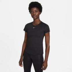 Woman T-Shirt Nike Dri-FIT - black