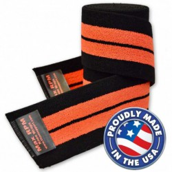 Titan MAX RPM Knee Wraps 2m - IPF (orange)