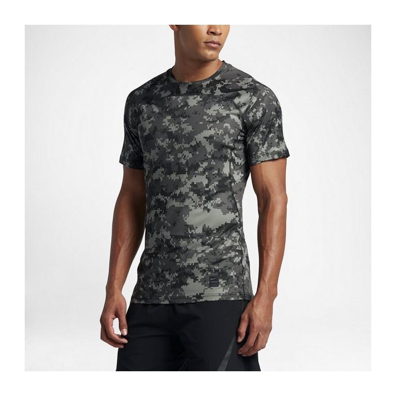 f29405bed Man T-shirt Nike Pro HyperCool - camo - WORKOUT.EU